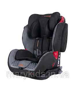 Детское автокресло Coletto Sportivo Isofix Black ( группа 1/2/3 9-36 кг)