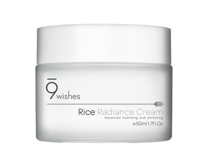 Крем увлажняющий для сияния кожи 9 wishes Rice Radiance Moisturizer 50 мл