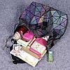 Эффектный женский рюкзак 20 л с клапаном Хамелеон в стиле Casual Бао Бао Жасмин, Bao Bao Issey Miyake 3004, фото 5