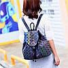 Эффектный женский рюкзак 20 л с клапаном Хамелеон в стиле Casual Бао Бао Жасмин, Bao Bao Issey Miyake 3004, фото 7