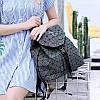 Эффектный женский рюкзак 20 л с клапаном Хамелеон в стиле Casual Бао Бао Жасмин, Bao Bao Issey Miyake 3004, фото 9