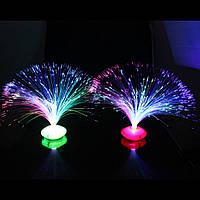Ночник светодиодный волокно оптическое, для дома украшения детский подарок к празднику Хелловін хелоуин Hallo