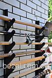 Полка металлическая  для садового инструмента на 12 ед., фото 4