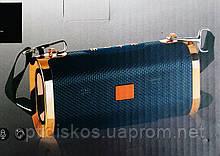 Bluetooth колонка портативная с тканевой ручкой, 17x9см, ET-803, черная