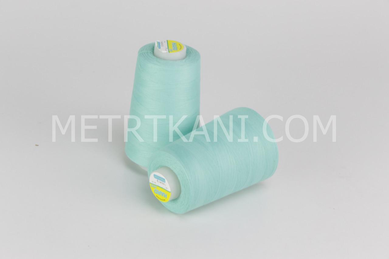 Нитки швейные  5000 ярдов, мятно-салатового цвета  № N50-40-145413