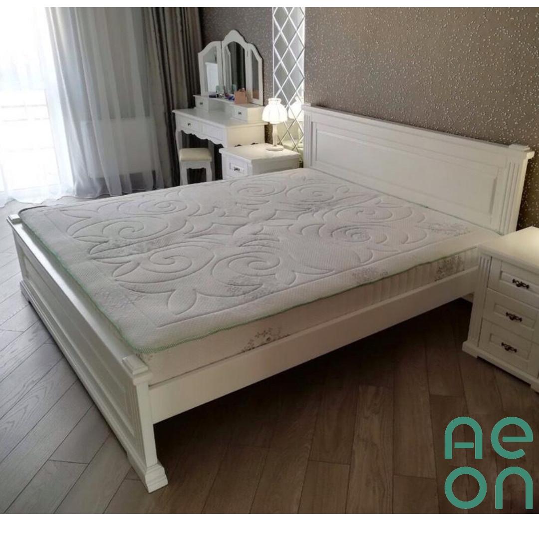 """Кровать двуспальная """"Прайм"""" 1600х2000 в белом цвете"""