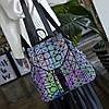 Эффектный женский рюкзак 20 л с клапаном Хамелеон в стиле Casual Бао Бао Жасмин, Bao Bao Issey Miyake 3004, фото 10