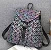 Эффектный женский рюкзак 20 л с клапаном Хамелеон в стиле Casual Бао Бао Жасмин, Bao Bao Issey Miyake 3004, фото 4