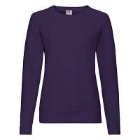 Женский стильный демисезонный свитшот под принт фиолетовый - L, XL, фото 1