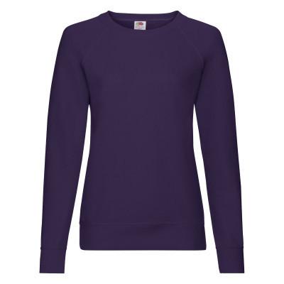 Женский стильный демисезонный свитшот под принт фиолетовый - L, XL