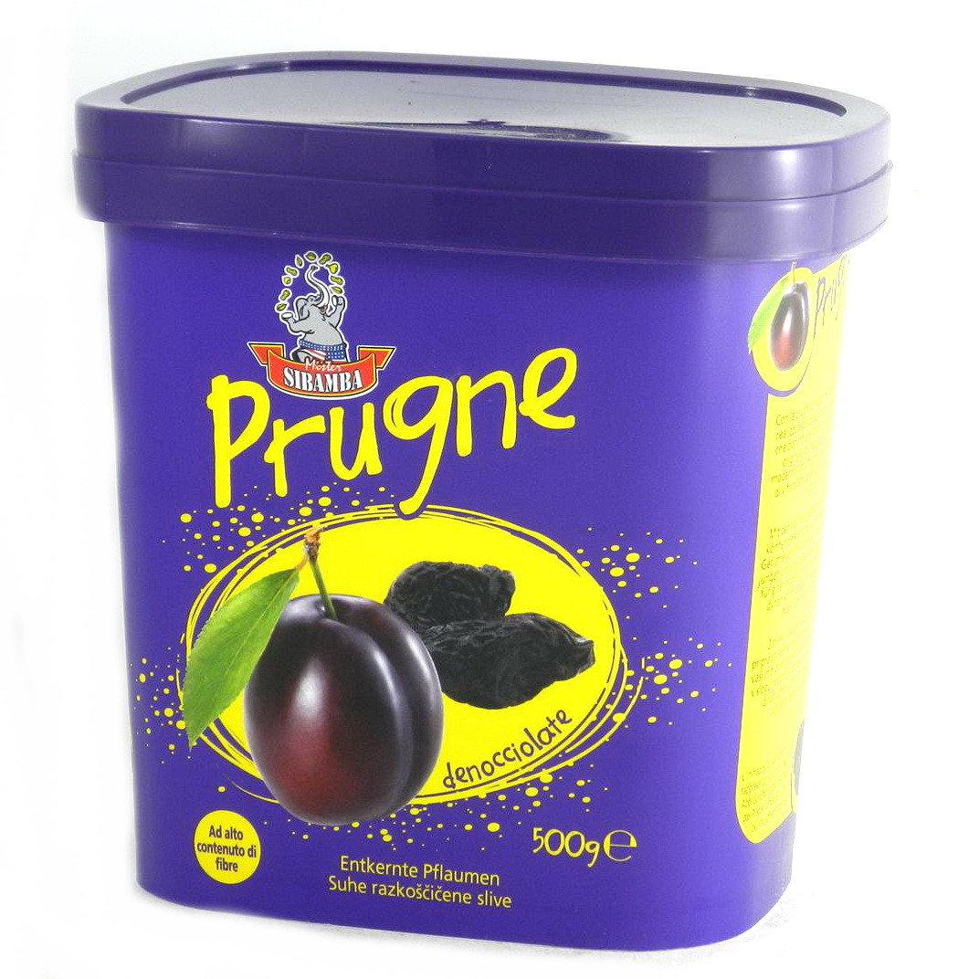 Чорнослив Sibamba Prugne, 500 гр.