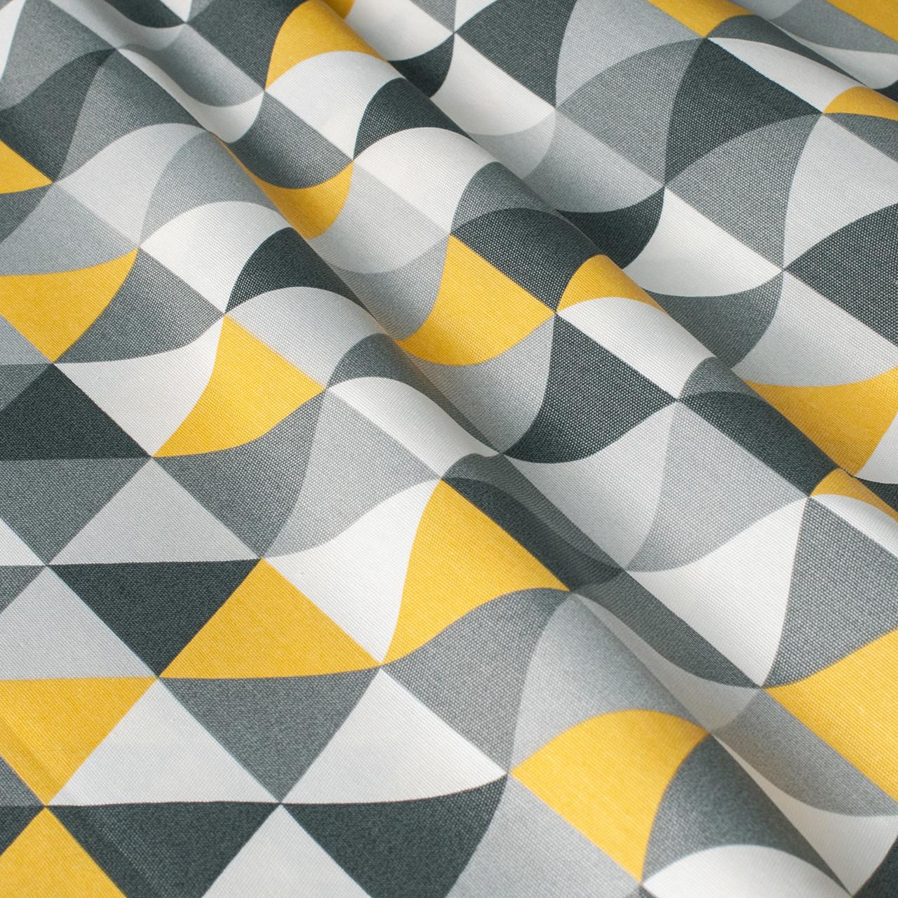 Ткань для штор, скатертей, подушек с тефлоновой пропиткой мозаика