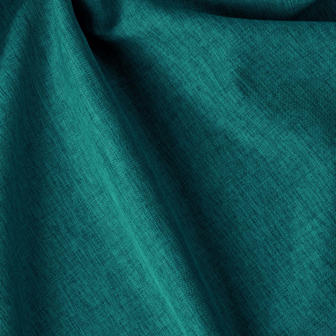 Декоративная однотонная рогожка бирюзового цвета 300см 84462v19