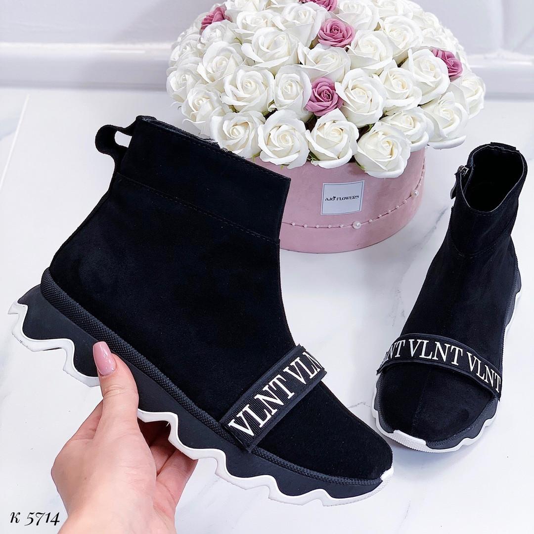 Ботинки женские осень на платформе