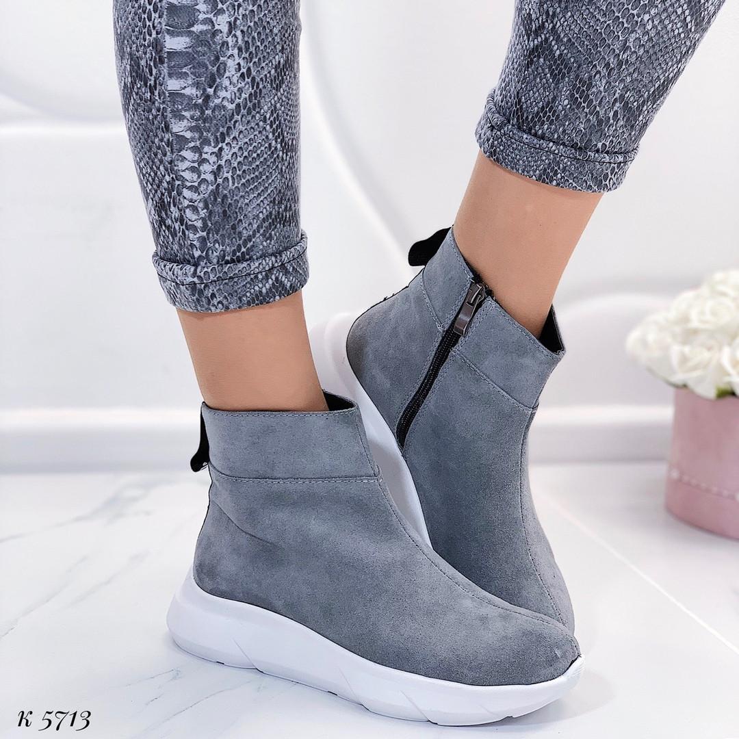 Обувь ботинки платформе