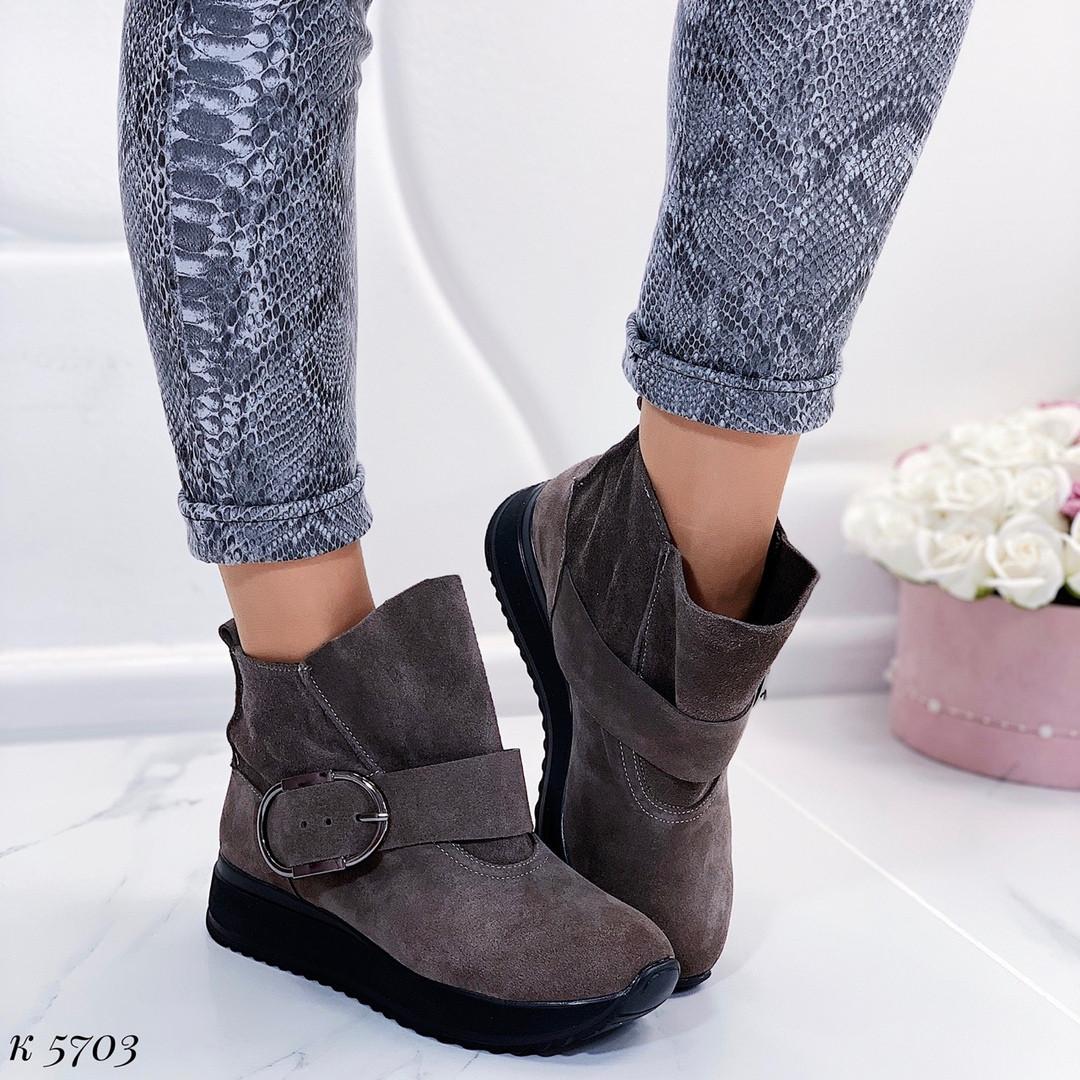 Грубые ботинки на платформе
