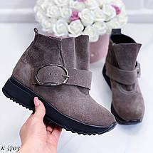 Грубые ботинки на платформе, фото 2