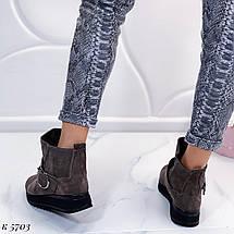 Грубые ботинки на платформе, фото 3