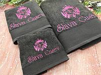 Полотенце банное с вышивкой, фото 2