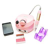 Фрезер для ногтей Nail Drill Master ZS-601 35000 об (Розовый)