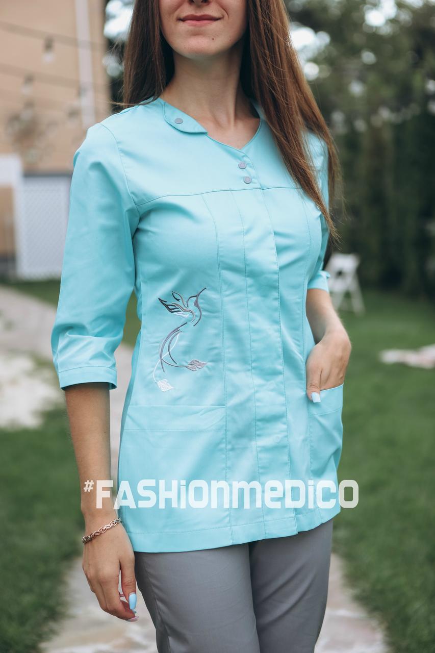 """Жіночий медичний костюм """"Колібрі"""""""