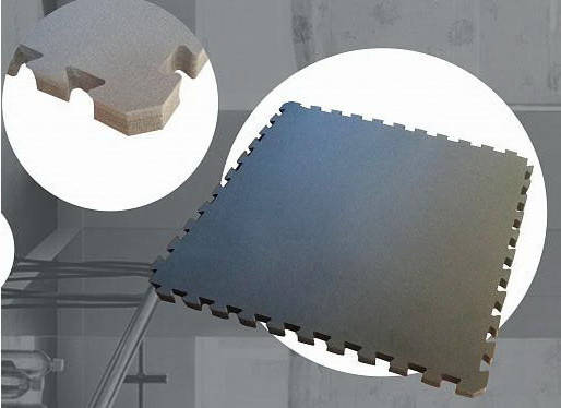 Мат IZOLON Base ласточкин хвост 40 мм (Серый), фото 2