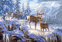 Пазл Сastorland на 1000 элементов Свет в зимних горах, фото 1