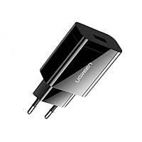 Ugreen CD122 USB сетевое зарядное устройство 5-12В с Quick Charge 3.0 18Вт