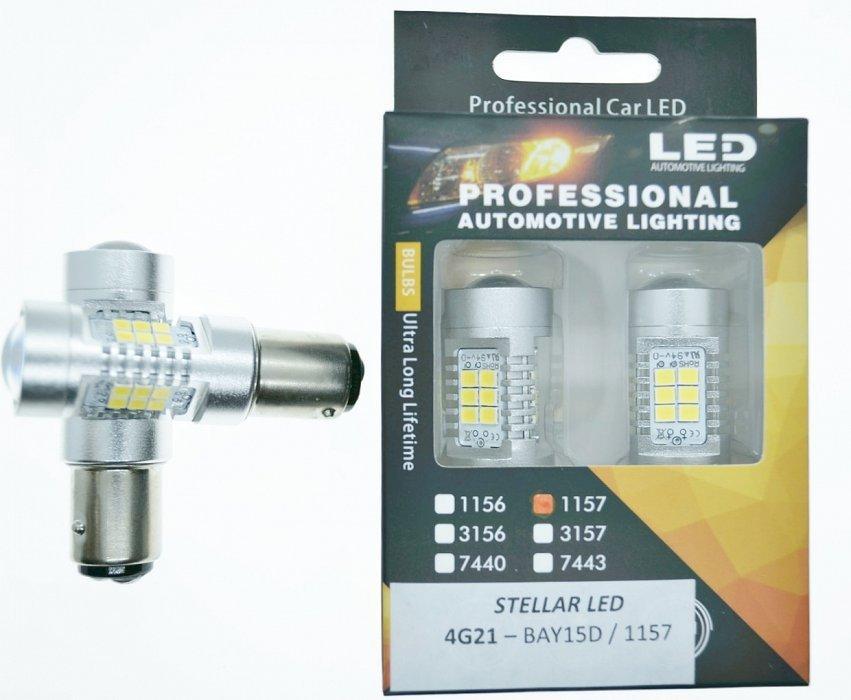 Led лампа STELLAR 4G21 BAY1D/1157(шт)