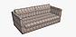 Тканина для штор, подушок, покривал натуральна бавовняна з різнокольоровими загзагами 84305v1, фото 9