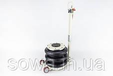 ✔️ Домкрат пневматический Euro Craft   6 тонн, висота 400мм   Регулируемая ручка, фото 2