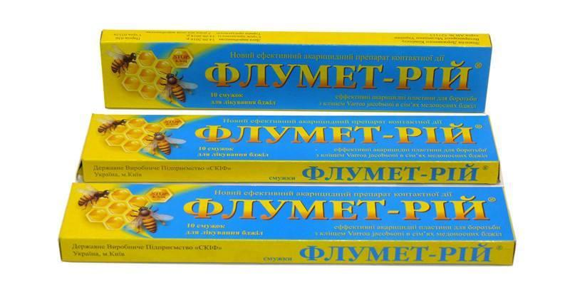 Флумет-рий 10 пол.(аналог байварола)флуметрин-3.85мг.  Флумет-рій.