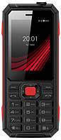 """Мобильный телефон ERGO F248 Defender DS Black2.4"""" АКБ 2000 мА*ч IP67"""