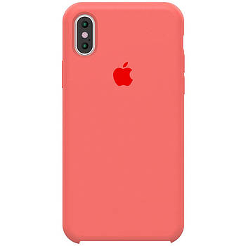 "Чехол Silicone case (A) для Apple iPhone X (5.8"") / XS (5.8"")"