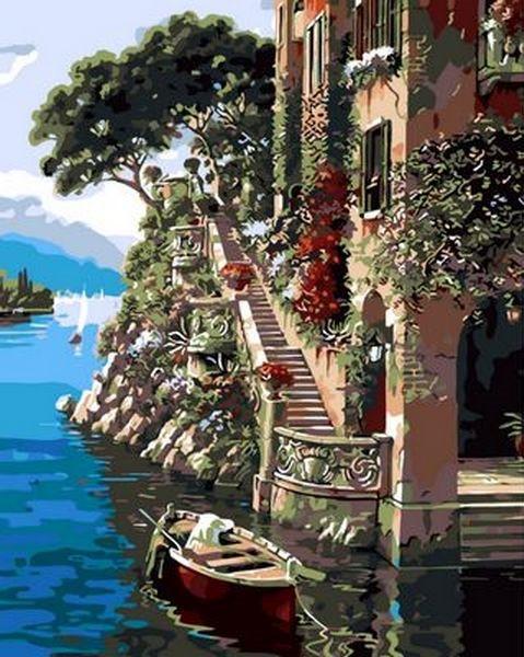 Картина по номерам 40×50 см. Mariposa Солнечная Италия (Q 568)