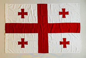Флаг Грузии (Аппликация) - (1м*1.5м), фото 2