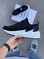 Кроссовки Adidas Shark Black White
