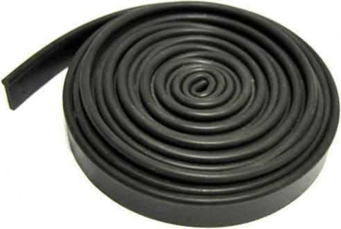 Резинка для смывки черная мягкая 355 см