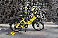 "Детский велосипед Veloz 14"" желтый, фото 1"