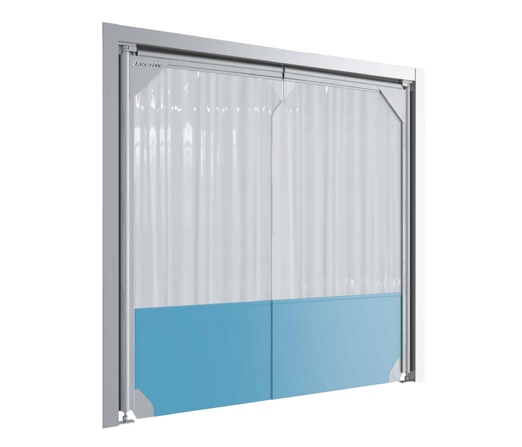 Маятниковые двери DoorHan SSD пленочного типа