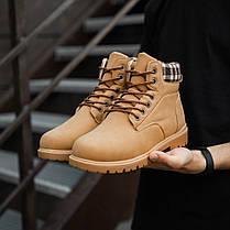 """Зимние ботинки на меху Toronto """"Коричневые"""", фото 2"""