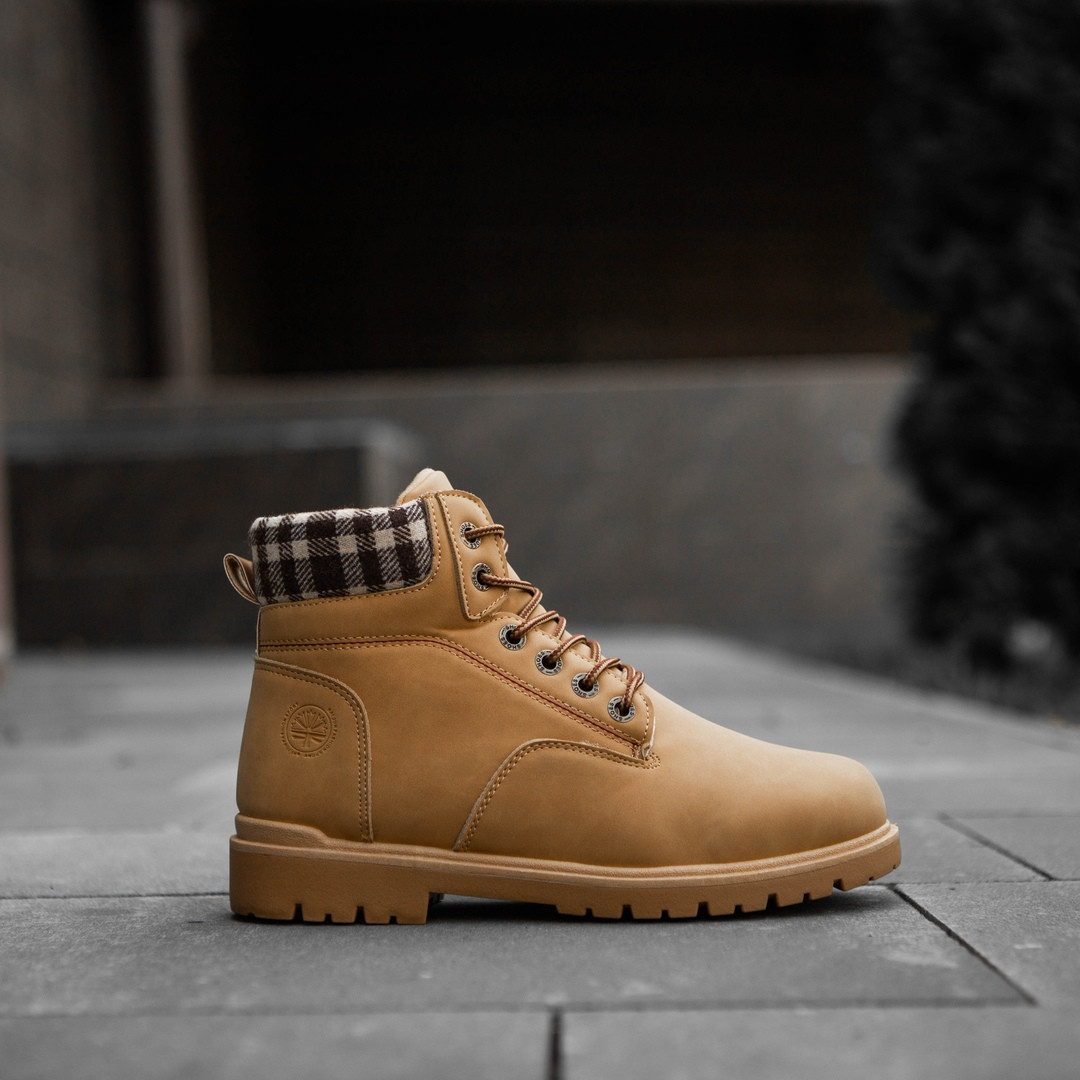 """Зимние ботинки на меху Toronto """"Коричневые"""""""