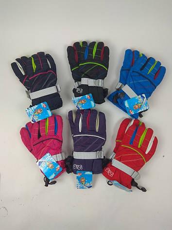 Перчатки-дутики водонепроницамые детские 3-6 лет (от 12 шт), фото 2