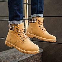 """Зимние ботинки на меху Toronto """"Коричневые"""", фото 3"""