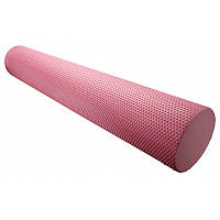 🔥✅ Массажный ролик для фитнеса и аэробики Fitness Roller PS-4075 Pink (90 * 15)