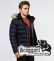 Braggart Aggressive 16115   Куртка мужская на зиму сине-черная