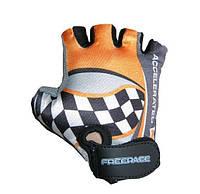 🔥✅ Велоперчатки детские Freerace FC-1000 (размер 4) Orange