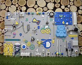 "Busyboard ""Гигант"" 60х100 см бізіборд бизиборд развивающая доска цветной с телефоном"