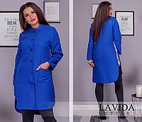 Женское кашемировое пальто-кардиган(НОРМА и БАТАЛ)
