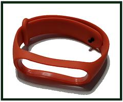 Ремінець для фітнес-бреслета Xiaomi Mi Band 4, червоний